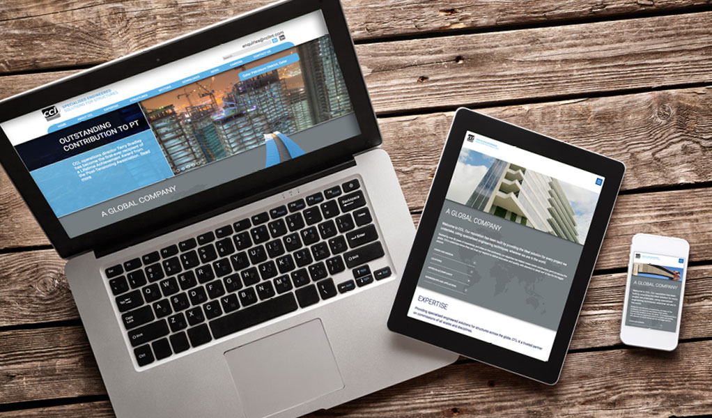 CCL website on different devices