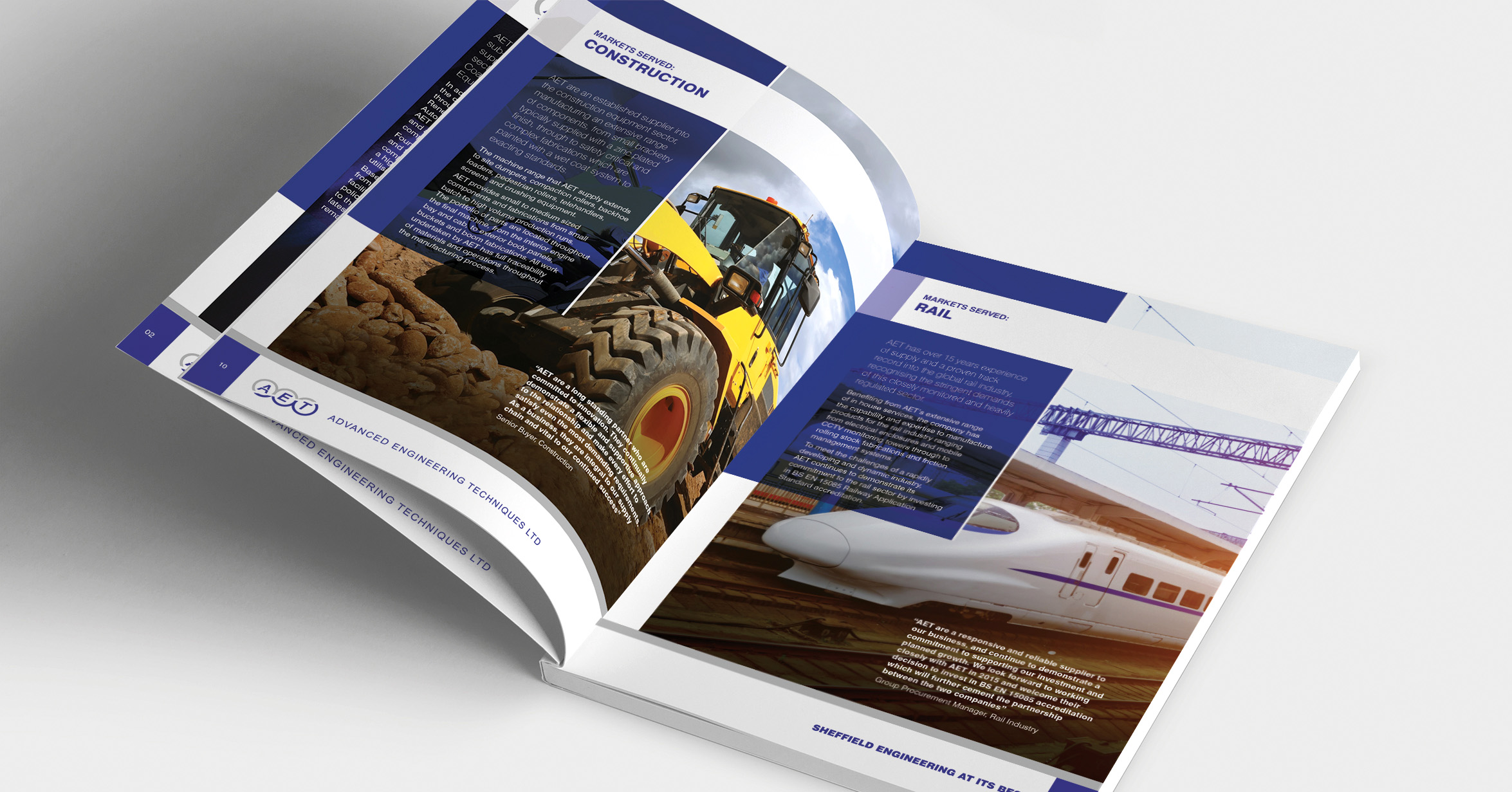 Brochure for Manufacturing Company - AET
