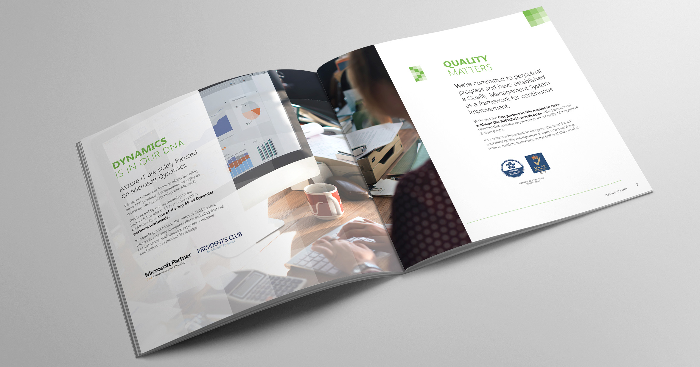Corporate Brochure for Business - Azzure IT