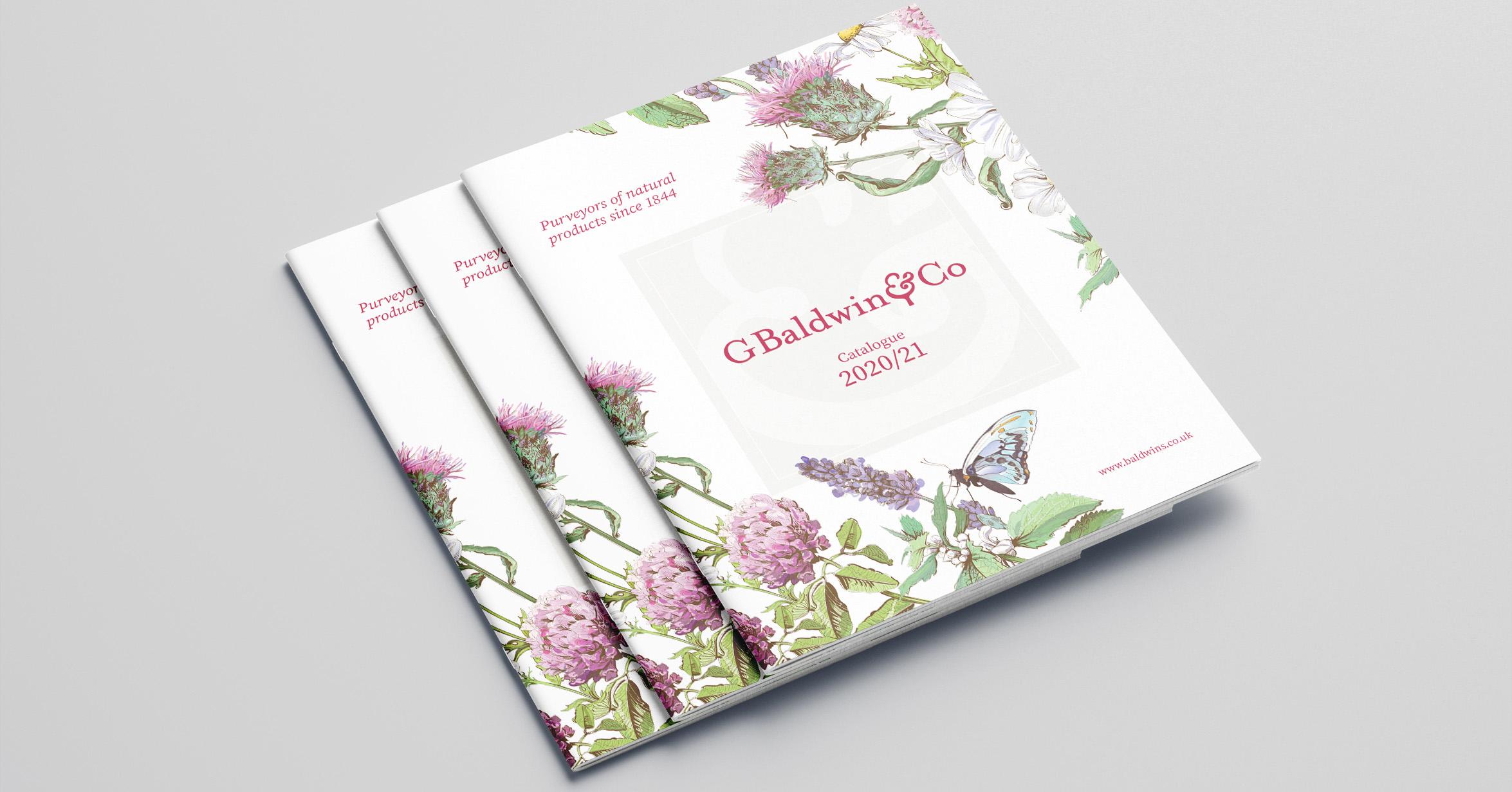 Catalogue Design and Production - G Baldwin & Co