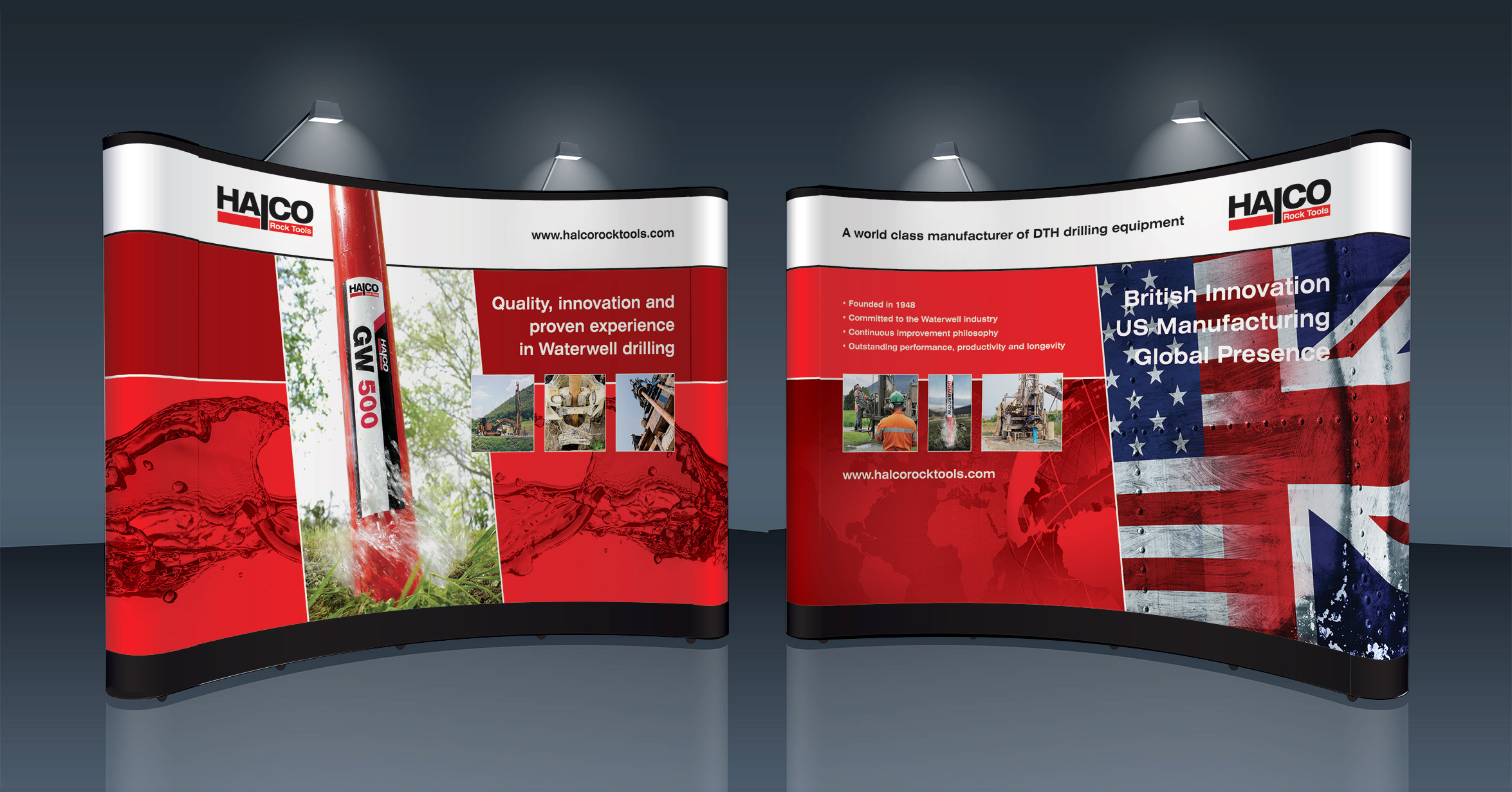 Exhibition Stand Designers - Halco