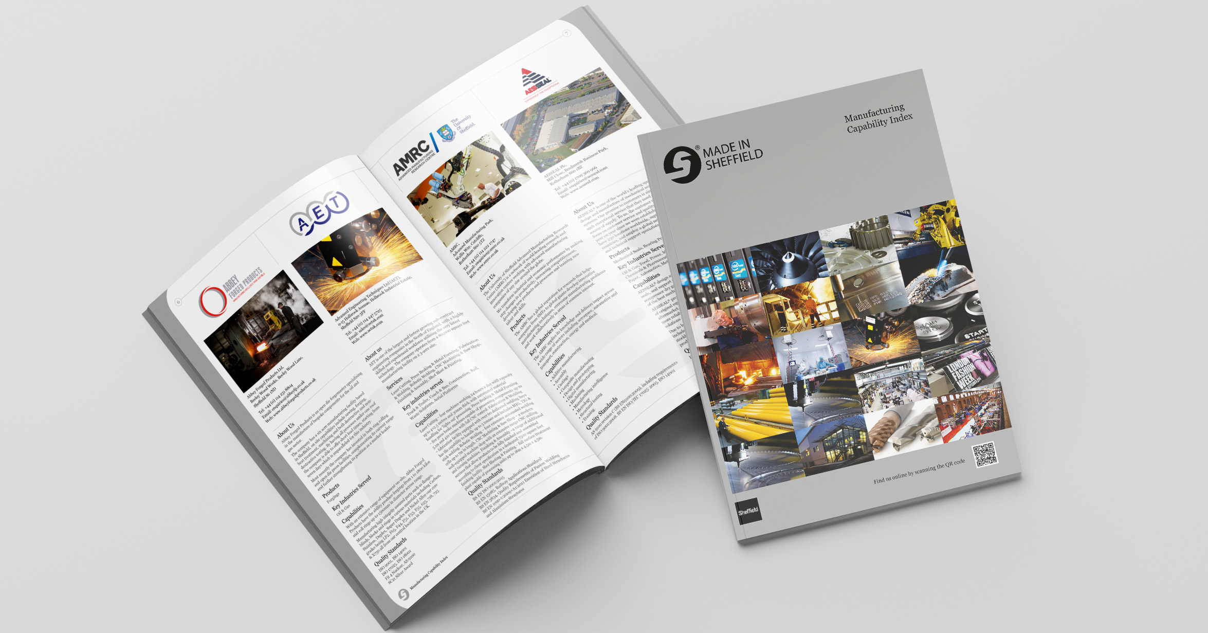 Corporate Literature - Design Agency - Made In Sheffield