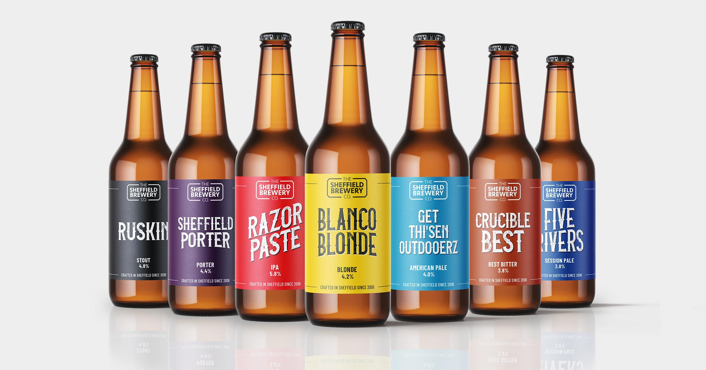 Branding for Sheffield Company - Sheffield Brewery